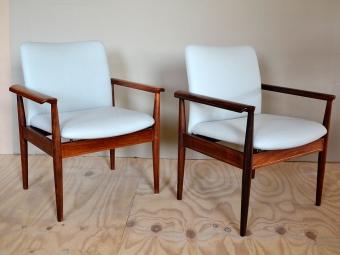 Diplomat-stoeltjes in Blazer van Camira