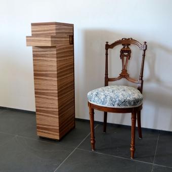 Kleiner Sessel in JAB-Stof
